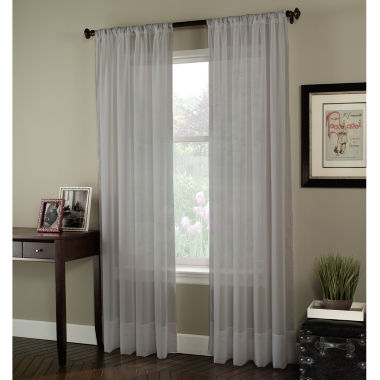 jcpenney.com | Rod-Pocket Sheer Curtain Panel
