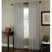 Voile Rod-Pocket Curtain Panel