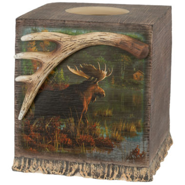 jcpenney.com | Back Bay Moose Tissue Box Cover
