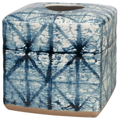 Shibori Tissue Box Cover