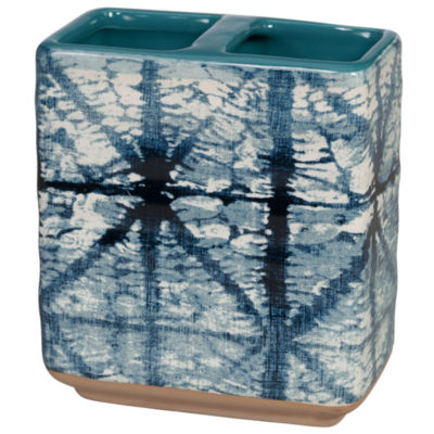 Shibori Toothbrush Holder