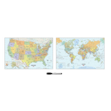 jcpenney.com | WallPops Us And World Map Decal Set