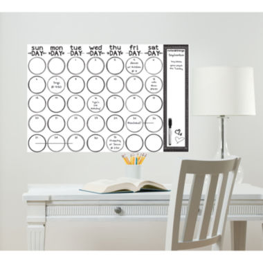 jcpenney.com | WallPops Sketch Monthly Calendar Decal