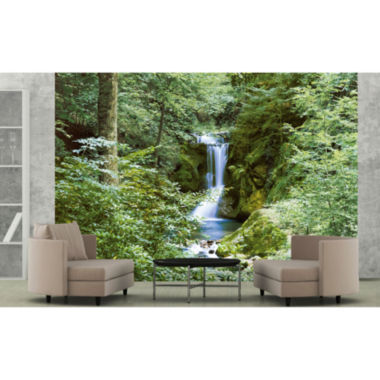 jcpenney.com | Ideal Décor Waterfall In Spring Wall Mural