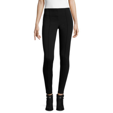 jcpenney.com | Worthington® Ponte Leggings with Wide Waistband - Tall