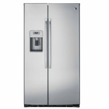 jcpenney.com | GE® Profile™ Series 21.9 Cu. Ft. Counter-Depth Side-By-Side Refrigerator