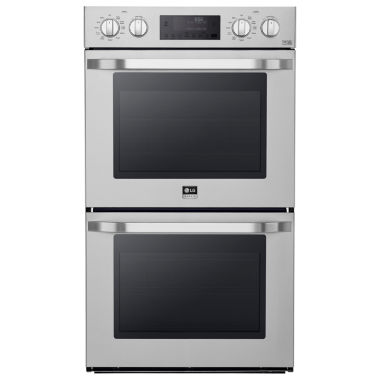 "jcpenney.com | LG 30"" Double Wall Oven with True Convection System"