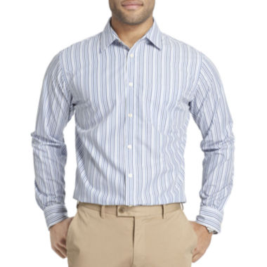 jcpenney.com | Van Heusen® Ultimate Traveler Blues Patterned Shirt