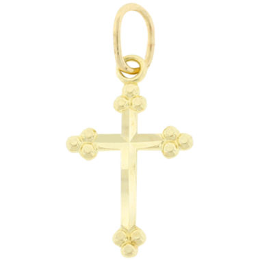 jcpenney.com | 10K Yellow Gold Cross Pendant