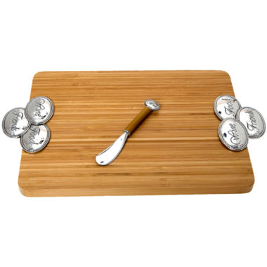 jcpenney.com | Thirstystone® Wine, Food & Friends Serving Board & Spreader