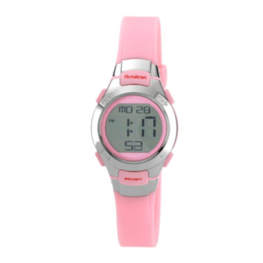 jcpenney.com | Armitron® Womens Pink Chronograph Digital Sport Watch 45/7012PNK