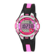 Armitron® Womens Pink Chronograph Digital Sport Watch