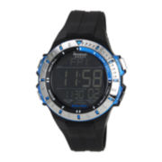 Armitron® Mens Blue Military Chronograph Digital Sport Watch