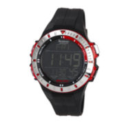 Armitron® Mens Red Military Chronograph Digital Sport Watch