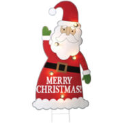 Lighted Outdoor Christmas Decoration - Santa
