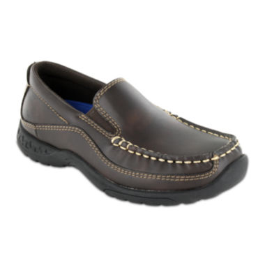 jcpenney.com | Stacy Adams® Porter Boys Moc Toe Slip-On Dress Shoes - Little Kids/Big Kids