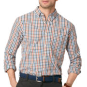 G.H. Bass® Long-Sleeve Plaid Poplin Shirt