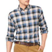 G.H. Bass® Long-Sleeve Plaid Flannel Shirt