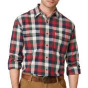 G.H. Bass® Long-Sleeve Plaid Twill Shirt