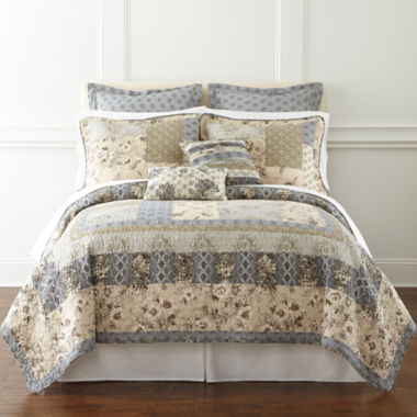 jcpenney.com | Home Expressions™ Youngstown Patchwork Quilt & Accessories