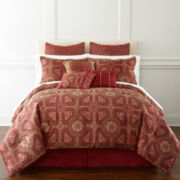 Carleton 7-pc. Jacquard Comforter Set & Accessories