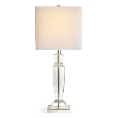 jcpenney.com | Royal Velvet® Classic Crystal Square Table Lamp