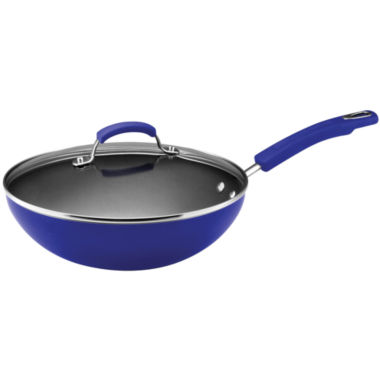 "jcpenney.com | Rachael Ray® 11"" Hard Enamel Covered Soup, Sauce and Sauté Pan"