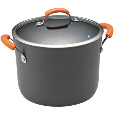 jcpenney.com | Rachael Ray® 10-qt. Hard-Anodized Covered Stock Pot
