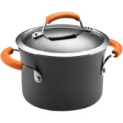 Rachael Ray® 3-qt. Hard-Anodized Covered Saucepot