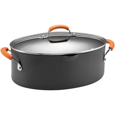 jcpenney.com | Rachael Ray® 8-qt. Hard-Anodized Covered Stock Pot