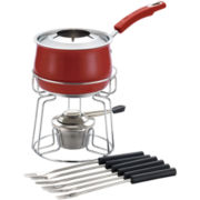 Rachael Ray® 2qt. Stainless Steel II Fondue Set