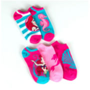 Disney® 5-pk. Ariel No Show Socks