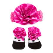 Headband and Socks Set – Girls One Size