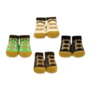 4-pk. Sneaker Socks – Boys One Size