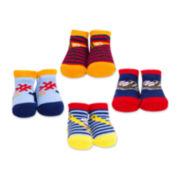 4-pk. Athletic Socks – Boys One Size