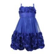 Bonnie Jean® Sleeveless Rosette Dress – Girls 7-16