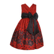 Bonnie Jean® Sleeveless Taffeta Dress – Girls Plus