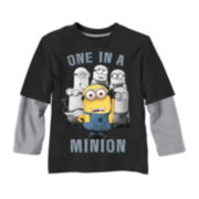 Despicable Me Long-Sleeve Graphic Knit Tee – Boys 2t-5t
