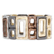Bold Elements™ Hammered Stretch Bracelet