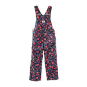 OshKosh B'gosh® Floral Overalls - Baby Girls 6m-24m
