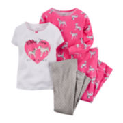 Carter's® 4-pc. Dalmatian Pajama Set - Baby Girls newborn-24m