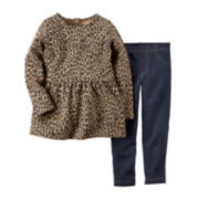 Carter's® Tunic and Jeggings - Baby Girls newborn-24m