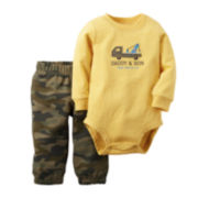 Carter's® Bodysuit and Camo Pants - Baby Boys newborn-24m