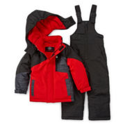 Weatherproof Snowsuit- Toddler Boys 2t-4t