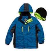 ZeroXposur® Snowboard Jacket and Beanie - Boys 8-20