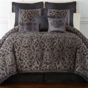 Home Expressions™ Verona 7-pc. Jacquard Comforter Set & Accessories
