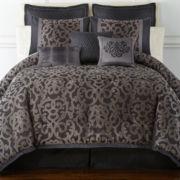 Home Expressions™ Verona 7-pc. Jacquard Comforter Set