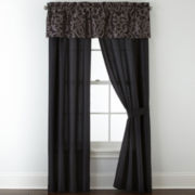 Home Expressions™ Verona 2-Pack Jacquard Curtain Panels