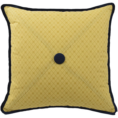 Jcpenney Gold Decorative Pillows : Waverly Rhapsody Square Decorative Pillow - JCPenney