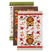 Harvest 3-pc. Assorted Kitchen Towel Set